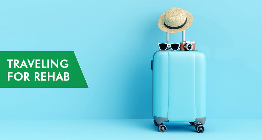 travel to get to a rehab