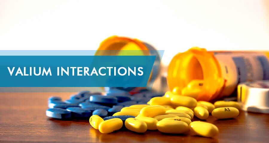 Valium drug interactions
