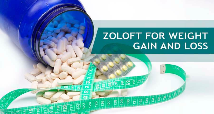 weight gain and loss with zoloft