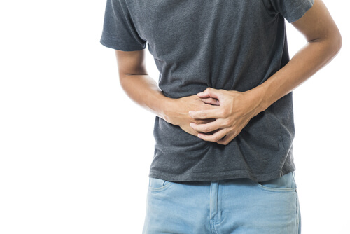 abdomen bloating from opioids