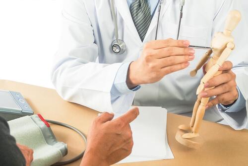 doctor explain the human body