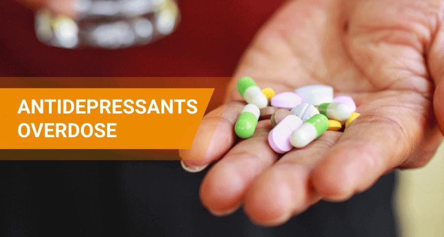 overdose on antidepressant drugs