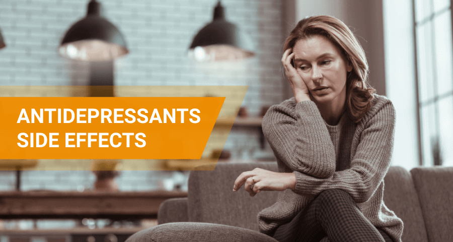 side effects on antidepressants
