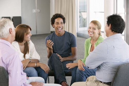 Meeting Of Rehab Aftercare Group