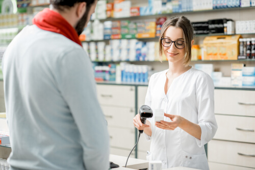 buying narcotics from pharmacy