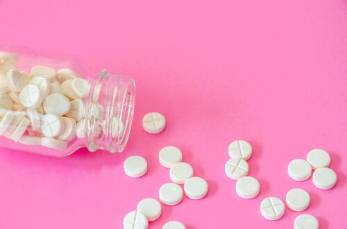 pills in the bottle