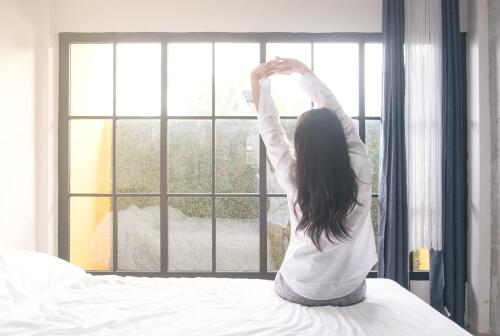 woman successfully managing antidepressants withdrawal