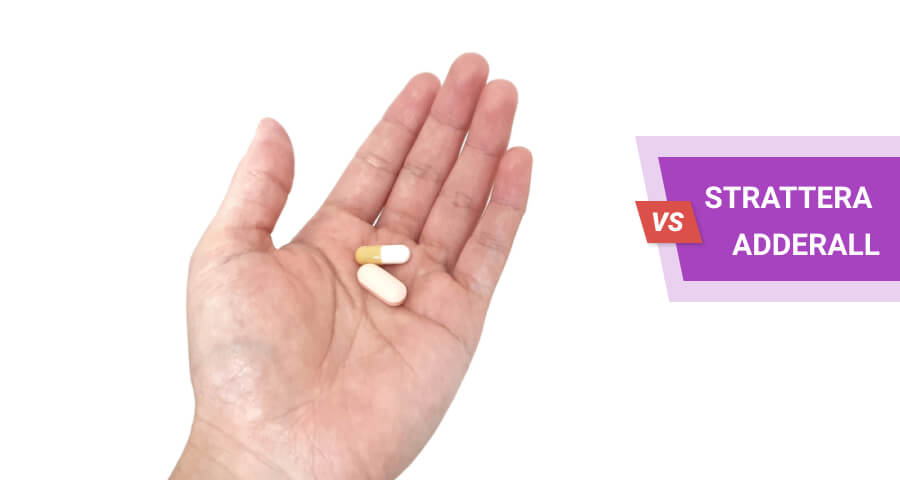 how strattera and adderall differ