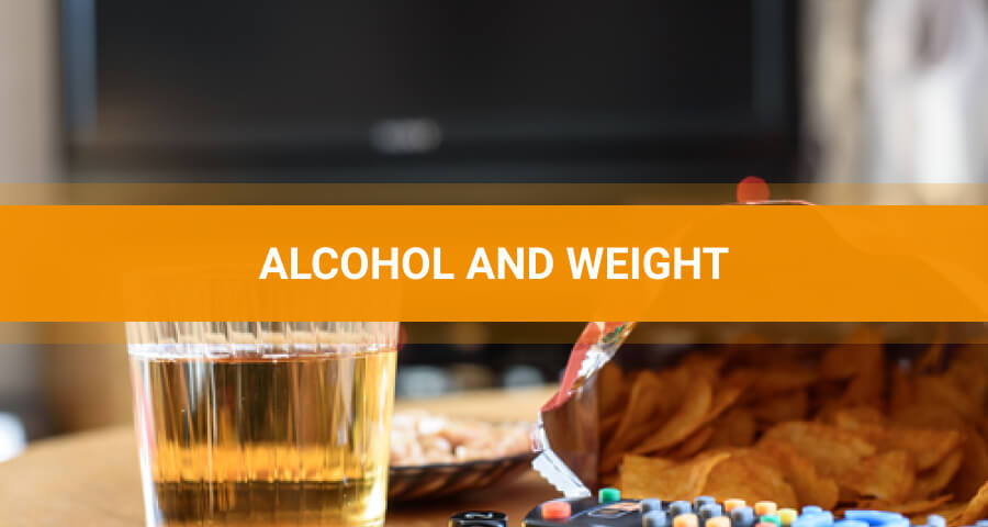 Alcohol effects on weight
