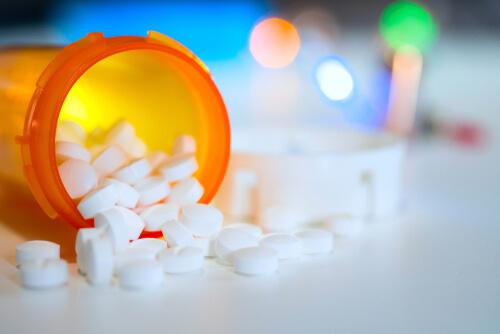 norco pills in orange bottle