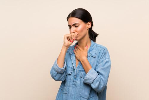woman with pneumonia
