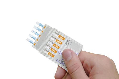 drug test blank