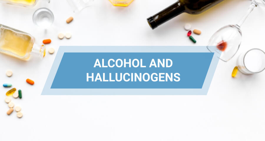 alcohol and hallucinogens mix