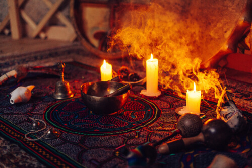 preparation for the shamanic ritual