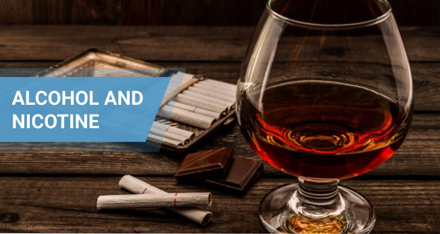 alcohol and nicotine together