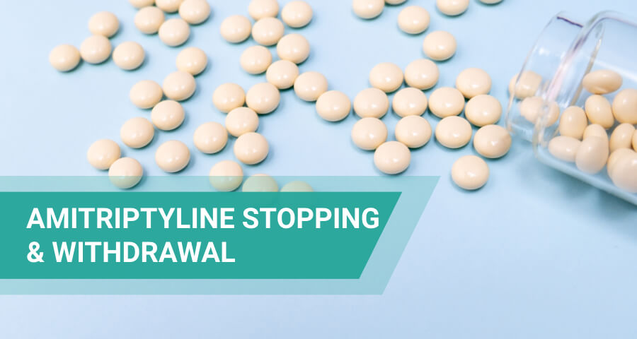 Elavil withdrawal and stopping period