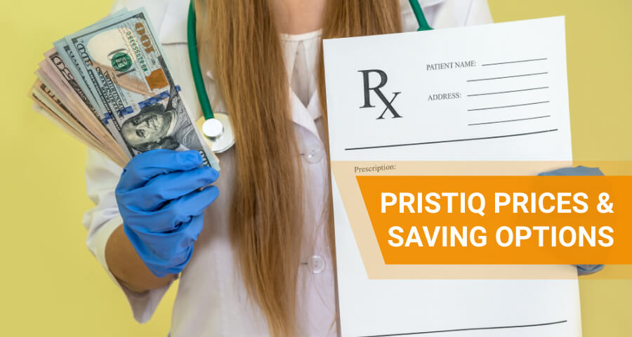 how much does pristiq cost