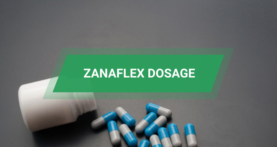 zanaflex dosage