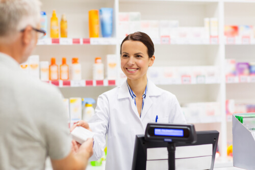 A Patient Buys Needed Drugs