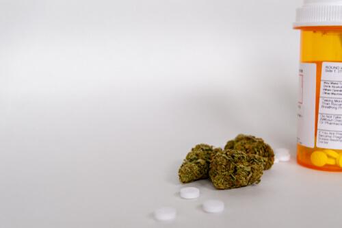 weed and clonidine