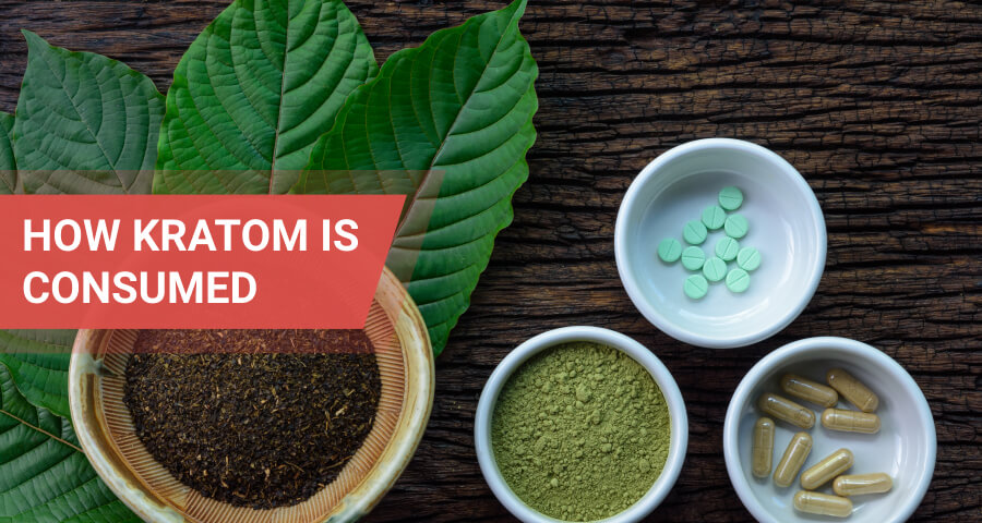 kratom ways of intake