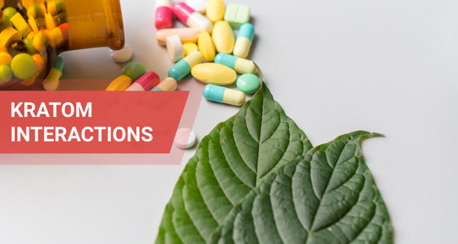 drugs kratom interact with