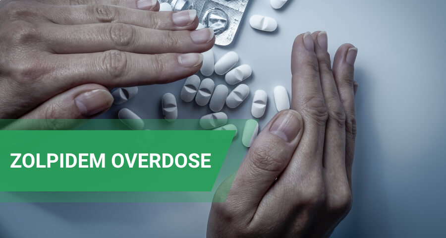 zopidem overdose symptoms