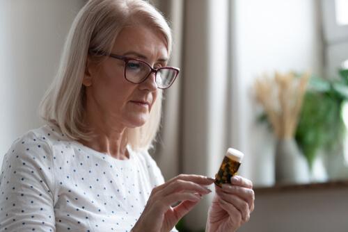 Mature Woman In Glasses