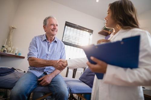 Doctor informs patient about drug detection windows.