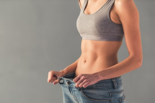 Woman with weight loss after sertraline.