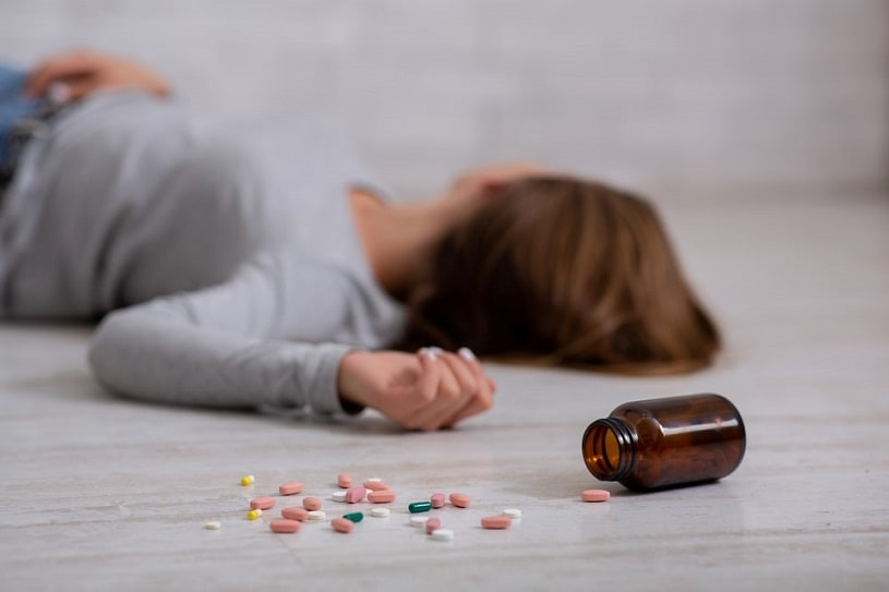 Woman who Overdosed on Adderall.