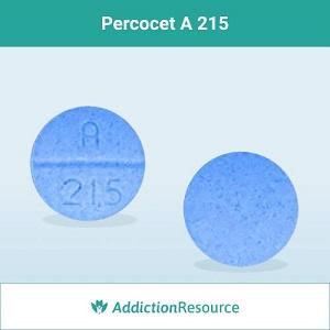 Percocet A 215 pill.