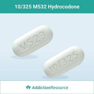 10/325 M532 Hydrocodone.