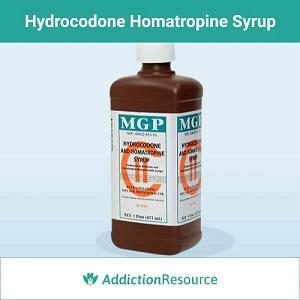 Hydrocodone Homatropine Syrup.