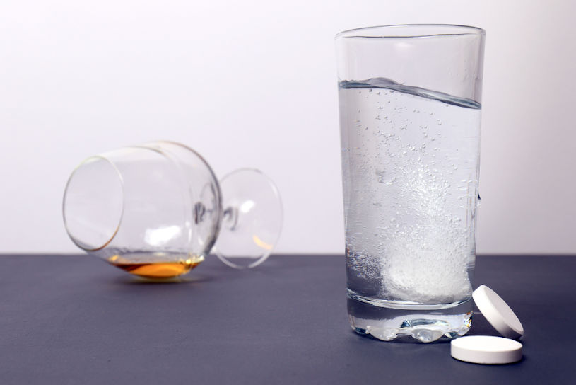Effective tablets against hangover.
