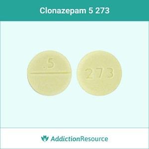Clonazepam 273 5 pill.