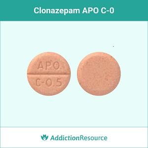 CLonazepam APO c-0 pill.