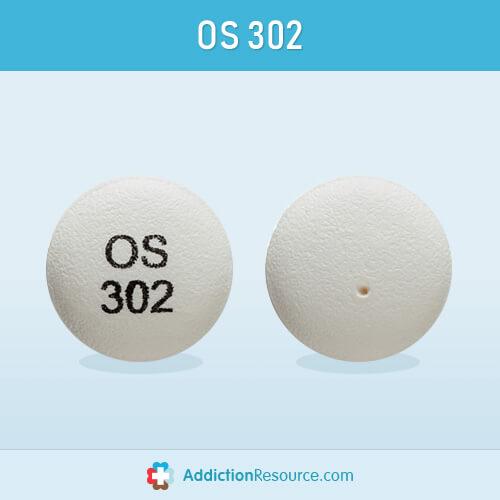 Effexor tablet with OS 302 imprint.