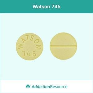 Watson 746 clonazepam pill.