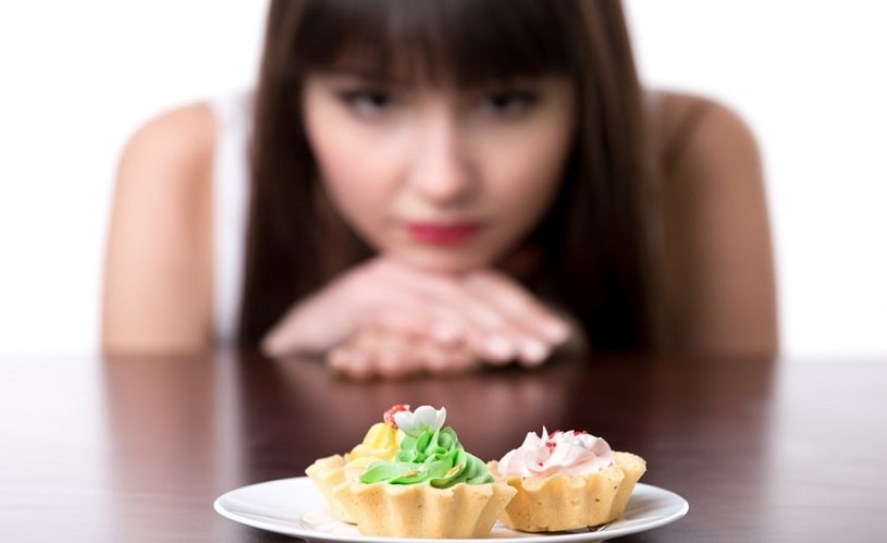 Woman on Seroquel craves a tasty dessert.