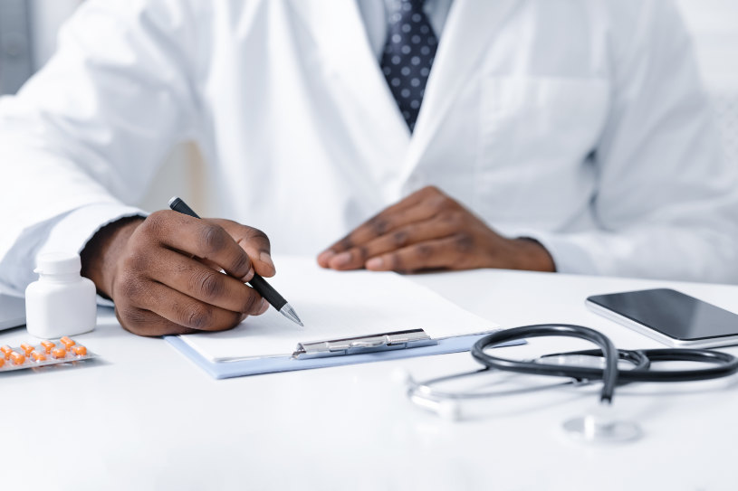 A doctor cautious about Phenazepam side effects and dangers.