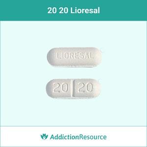 20 20 Lioresal pill.