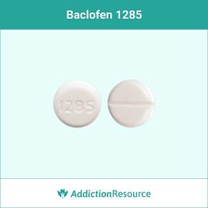 Baclofen 1285 tablet.