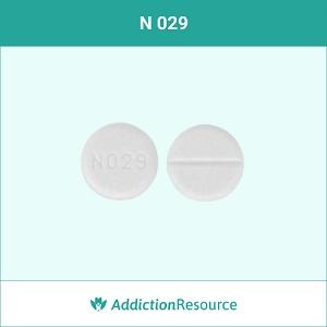 Baclofen pill N 029.