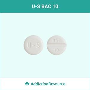 U-S BAC 10 pill.
