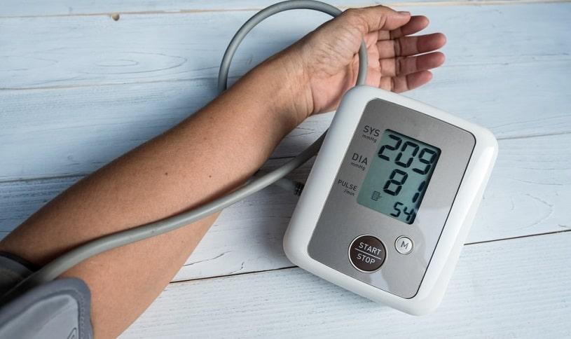 Measuring blood pressure, hypertension.