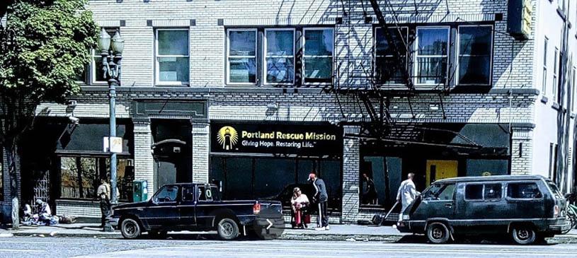 Portland Rescue Mission, Portland