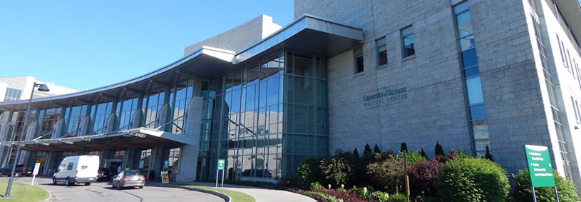 University of Vermont Medical Center, Burlington, VT