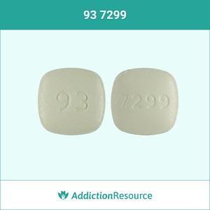 93 7299 meloxicam pill.