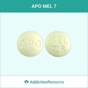 APO MEL 7 meloxicam pill.